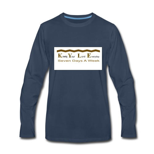 DONE_CD_151_001 - Men's Premium Long Sleeve T-Shirt