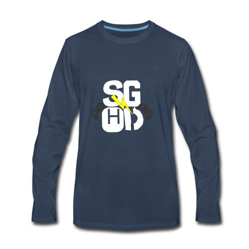StormGamingHD T-shirt - Men's Premium Long Sleeve T-Shirt