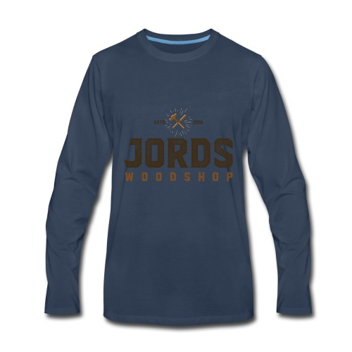 New Age JordsWoodShop logo - Men's Premium Long Sleeve T-Shirt