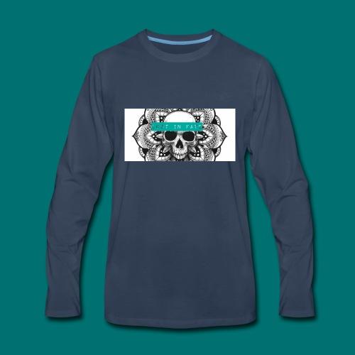 Lost in Fate Design #2 - Men's Premium Long Sleeve T-Shirt