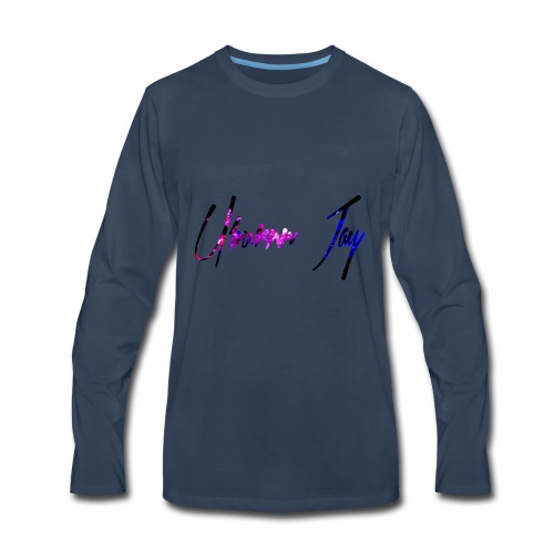 UJ Galaxy - Men's Premium Long Sleeve T-Shirt
