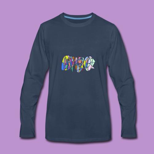 Scribble - Men's Premium Long Sleeve T-Shirt