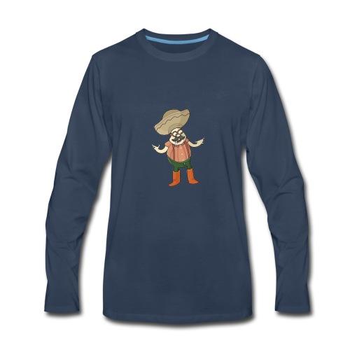 TriggerJesus Basic Logo - Men's Premium Long Sleeve T-Shirt