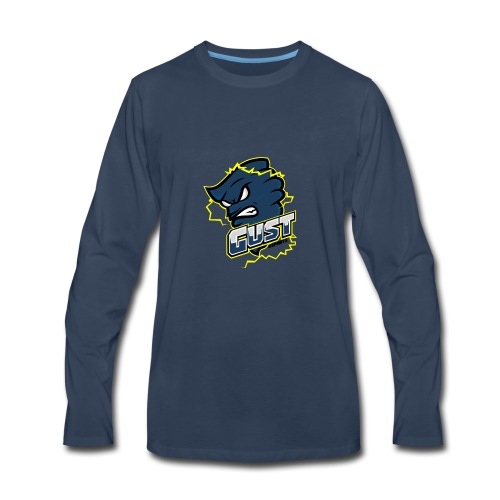 Gust eSports Navy Apparel - Men's Premium Long Sleeve T-Shirt