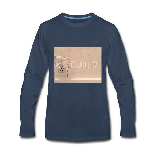 Casey Pierce banner art - Men's Premium Long Sleeve T-Shirt