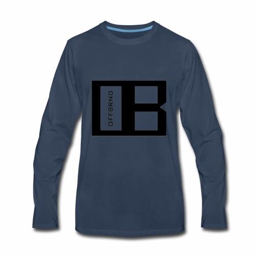 OffBrnd Logo 1 - Men's Premium Long Sleeve T-Shirt