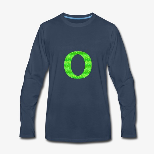 Oregon Ducks - Men's Premium Long Sleeve T-Shirt