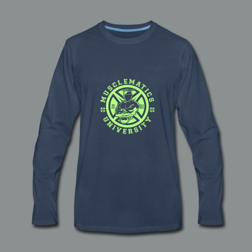 ALUMNI HIGH LIME - Men's Premium Long Sleeve T-Shirt