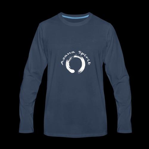 Enso Ring - Asana Spirit - Men's Premium Long Sleeve T-Shirt