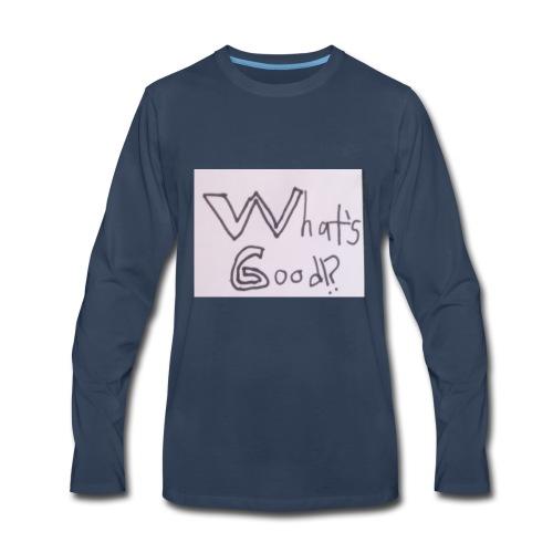 What's Good!? - Men's Premium Long Sleeve T-Shirt
