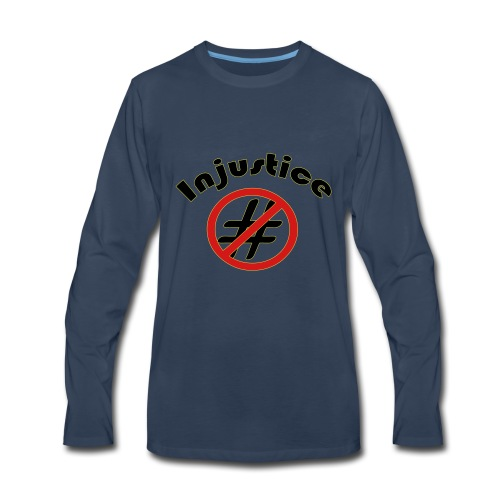 Injustice - Men's Premium Long Sleeve T-Shirt