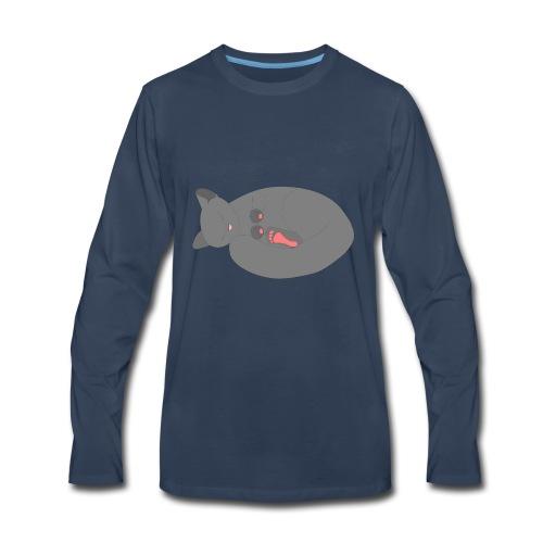 Sleeping Kitten - Men's Premium Long Sleeve T-Shirt