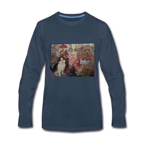 Candy and animals - Men's Premium Long Sleeve T-Shirt