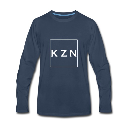 KZN Logo - Men's Premium Long Sleeve T-Shirt