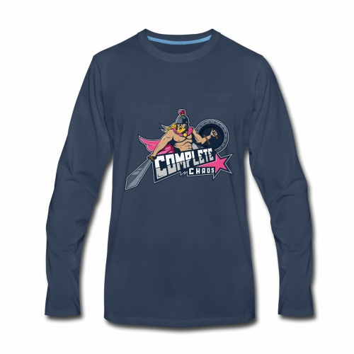Complete Chaos - Pink - Men's Premium Long Sleeve T-Shirt
