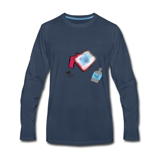 Printing Cat shirt - Men's Premium Long Sleeve T-Shirt