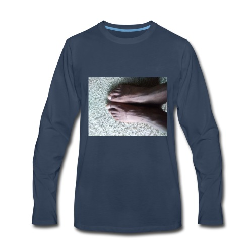 Feet - Men's Premium Long Sleeve T-Shirt