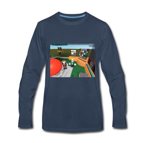 LowlyLucas65102 Roblox Avatar - Men's Premium Long Sleeve T-Shirt