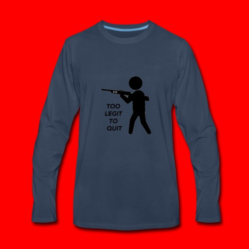 OxyGang: Too Legit To Quit Products - Men's Premium Long Sleeve T-Shirt