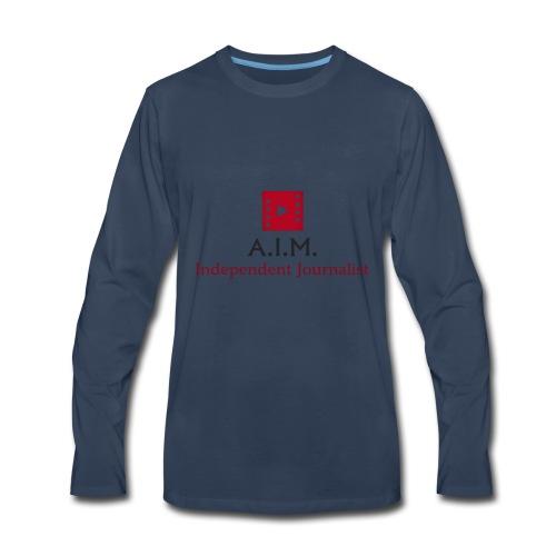 Aussie independent Media style 1 - Men's Premium Long Sleeve T-Shirt