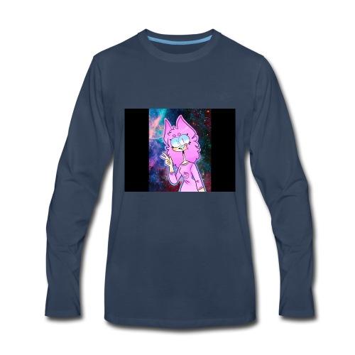 :) - Men's Premium Long Sleeve T-Shirt