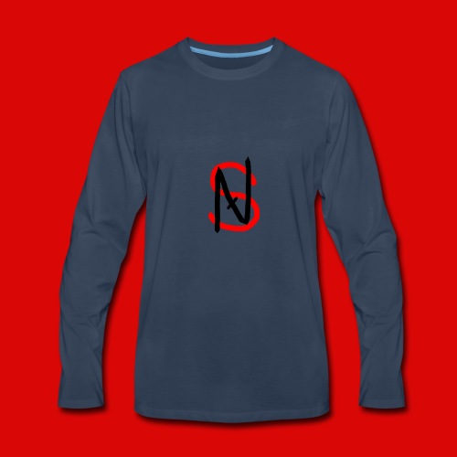 Nathaniel Smash Hoodie : Official Merchandise - Men's Premium Long Sleeve T-Shirt