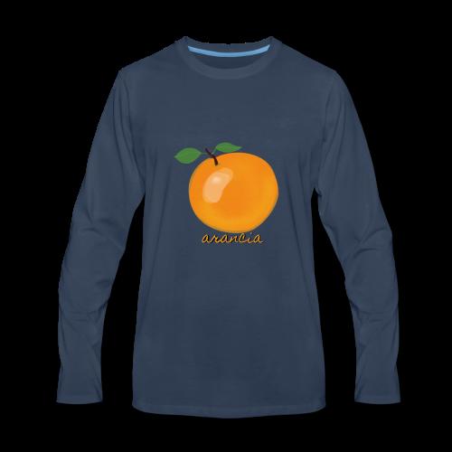Arancia - Men's Premium Long Sleeve T-Shirt
