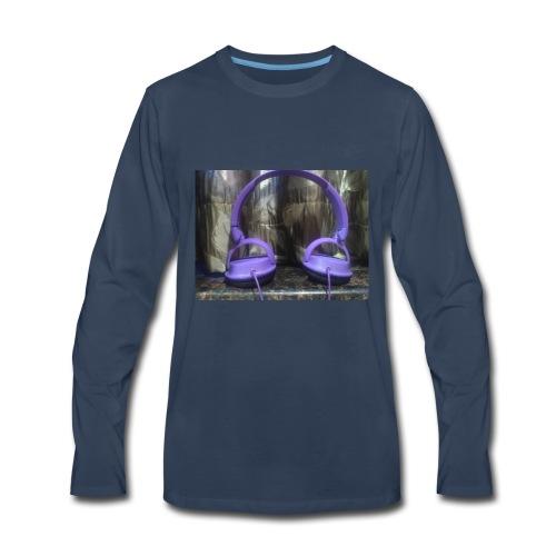 Nakul headphone - Men's Premium Long Sleeve T-Shirt