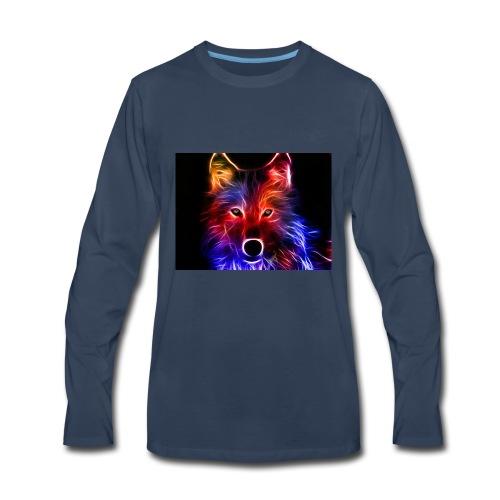 3D Cool Image - Men's Premium Long Sleeve T-Shirt