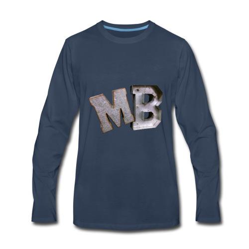MB logo - Men's Premium Long Sleeve T-Shirt