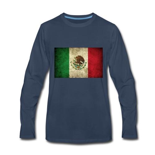 Mexico flag t-shirts etc - Men's Premium Long Sleeve T-Shirt