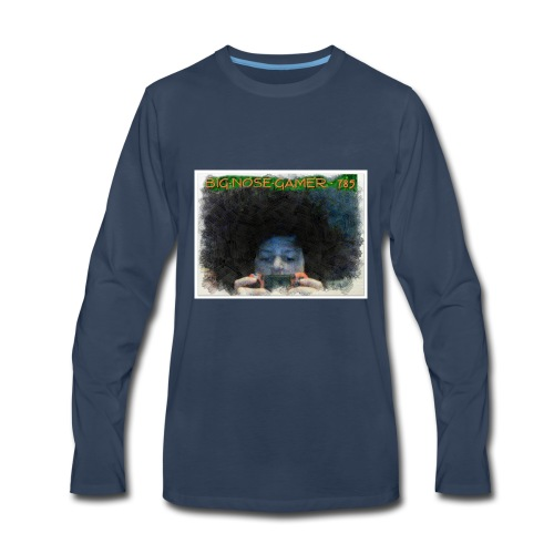 ANIMATED PICTURE - Men's Premium Long Sleeve T-Shirt