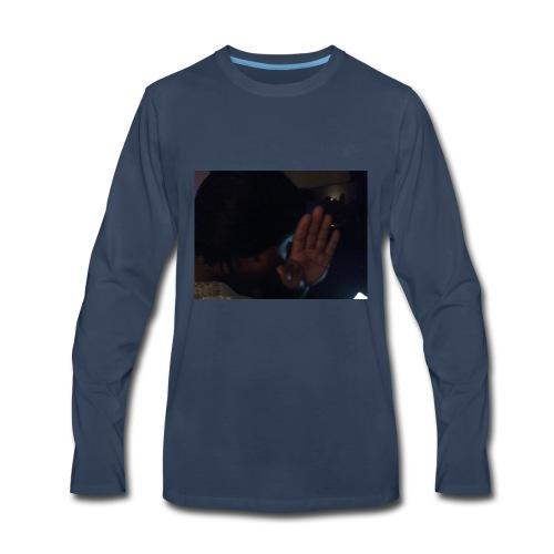 Out my face - Men's Premium Long Sleeve T-Shirt