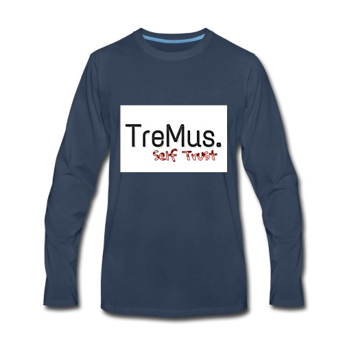 TreMus Self Trust - Men's Premium Long Sleeve T-Shirt