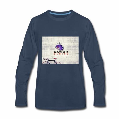 Savior Gaming Logo - Men's Premium Long Sleeve T-Shirt