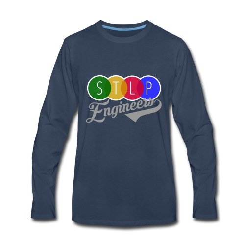 STLP Engineer Logo - Men's Premium Long Sleeve T-Shirt