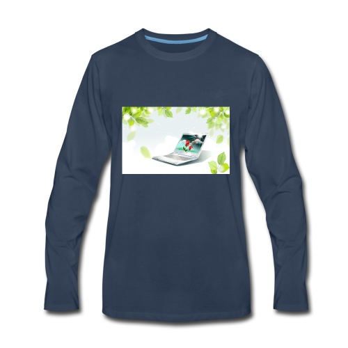 Digital World 63 - Men's Premium Long Sleeve T-Shirt