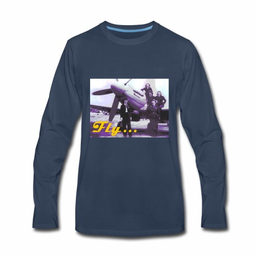 Fly Girls - Men's Premium Long Sleeve T-Shirt
