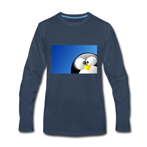 Penguin Shirt Shop Kids Men Woman - Men's Premium Long Sleeve T-Shirt
