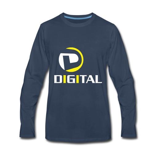 Digital - Men's Premium Long Sleeve T-Shirt