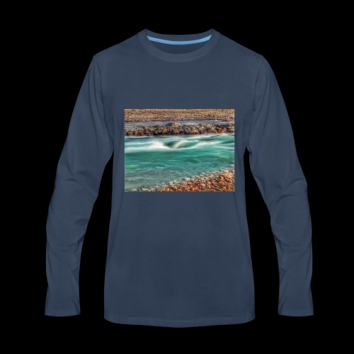 Test - Men's Premium Long Sleeve T-Shirt