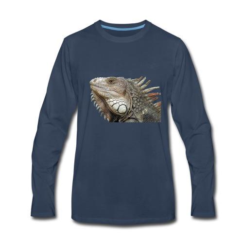 Iguana - Men's Premium Long Sleeve T-Shirt