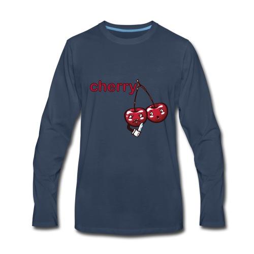 cherry - Men's Premium Long Sleeve T-Shirt