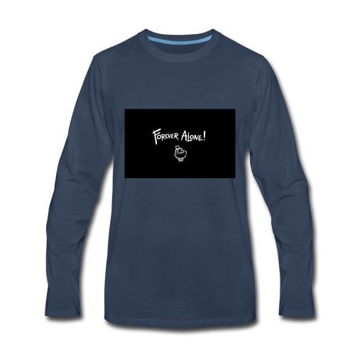 Alone Forever - Men's Premium Long Sleeve T-Shirt
