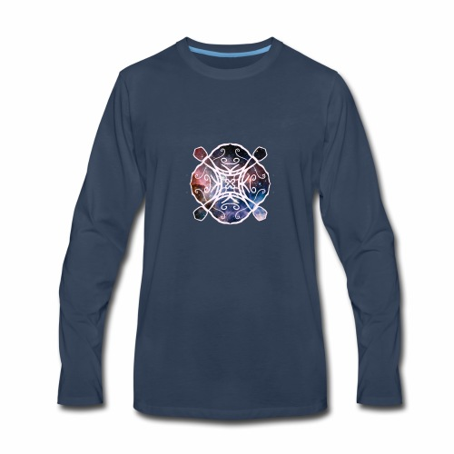 Space design - Men's Premium Long Sleeve T-Shirt
