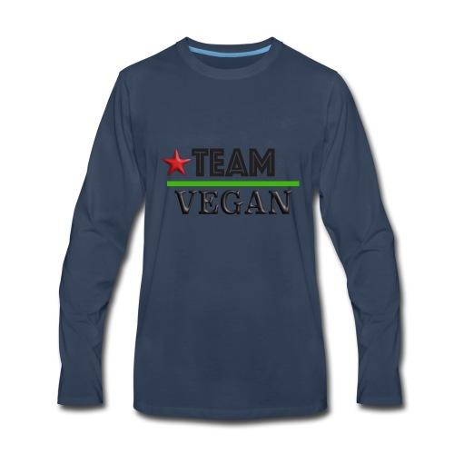 TEAM VEGAN - Men's Premium Long Sleeve T-Shirt