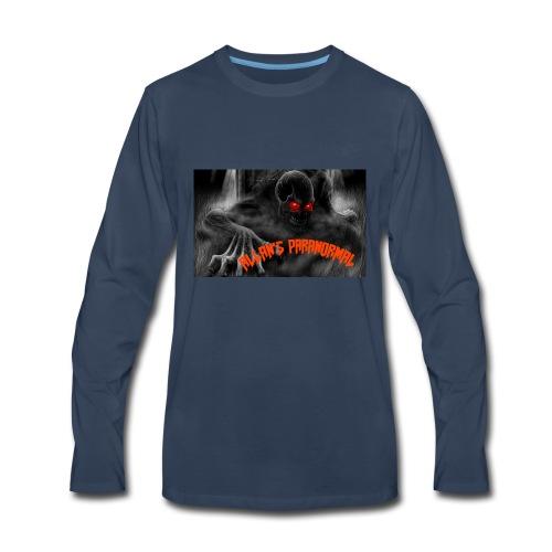 ALLAN'S PARANORMAL TEAM co. - Men's Premium Long Sleeve T-Shirt