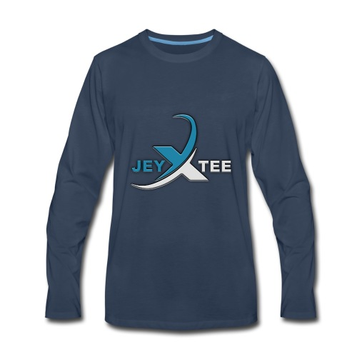 JeyXTee LOGO - Men's Premium Long Sleeve T-Shirt