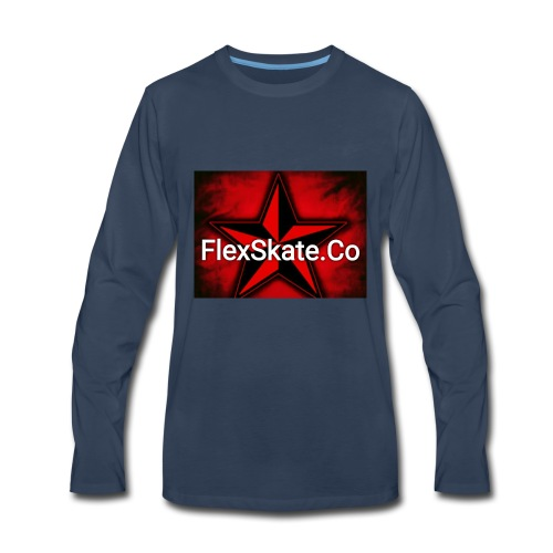FlexSkate.Co Logo #3 - Men's Premium Long Sleeve T-Shirt