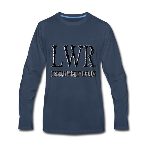LEGENDARY WRESTLING REBELLION BW - Men's Premium Long Sleeve T-Shirt